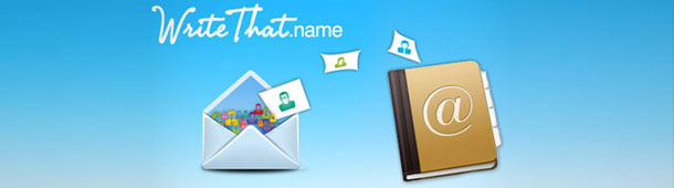 Google Contacts automatisch up-to-date met WriteThat.name