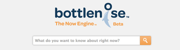 Social search engine Bottlenose blijft verassen